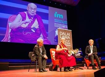 Dalai lamas framträdande på Malmö Live 12 september 2018