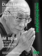 Medmännskligt Nr3 2018 framsuda med Dalai lama