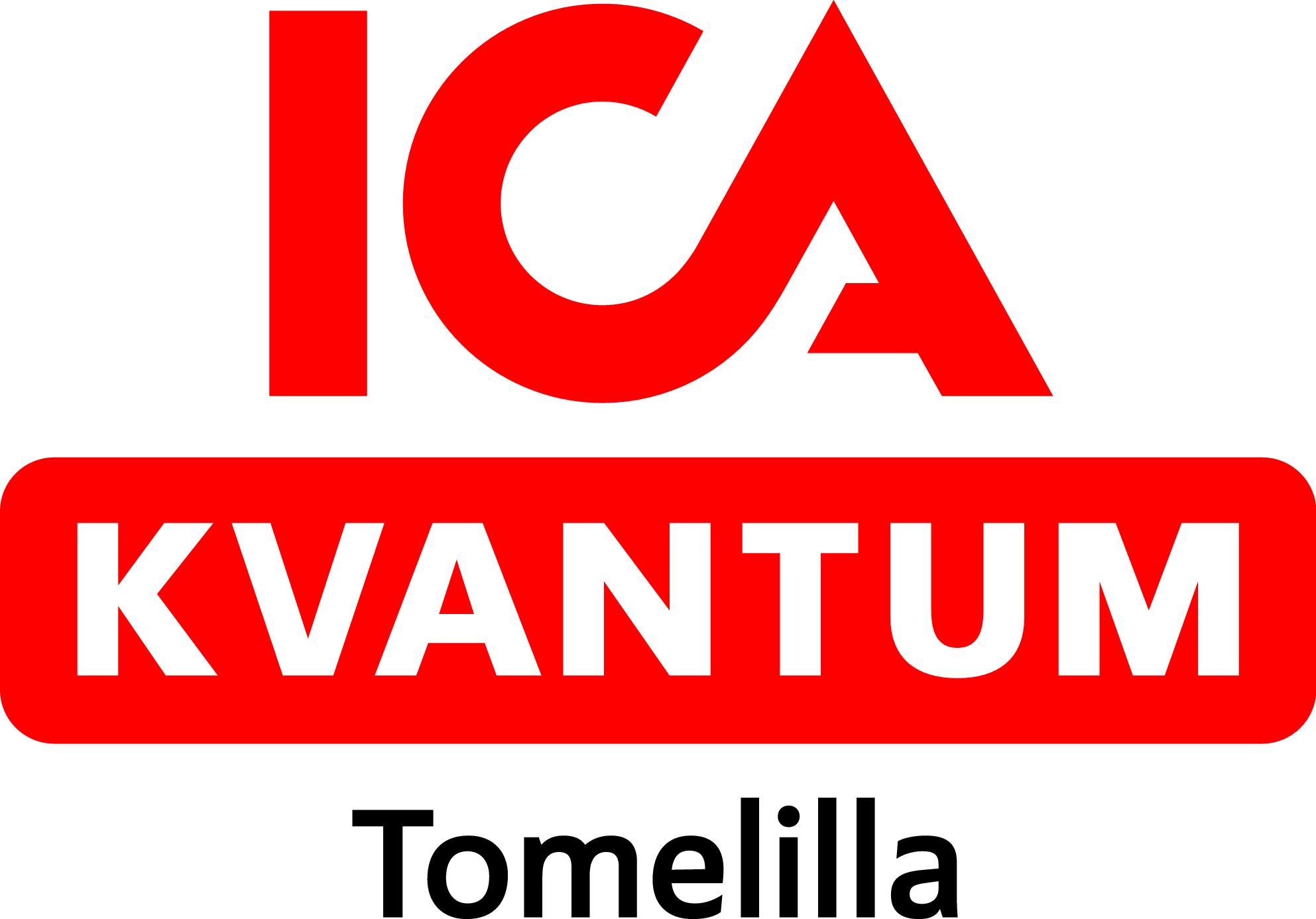 ICA Kvantum Tomelilla logotyp