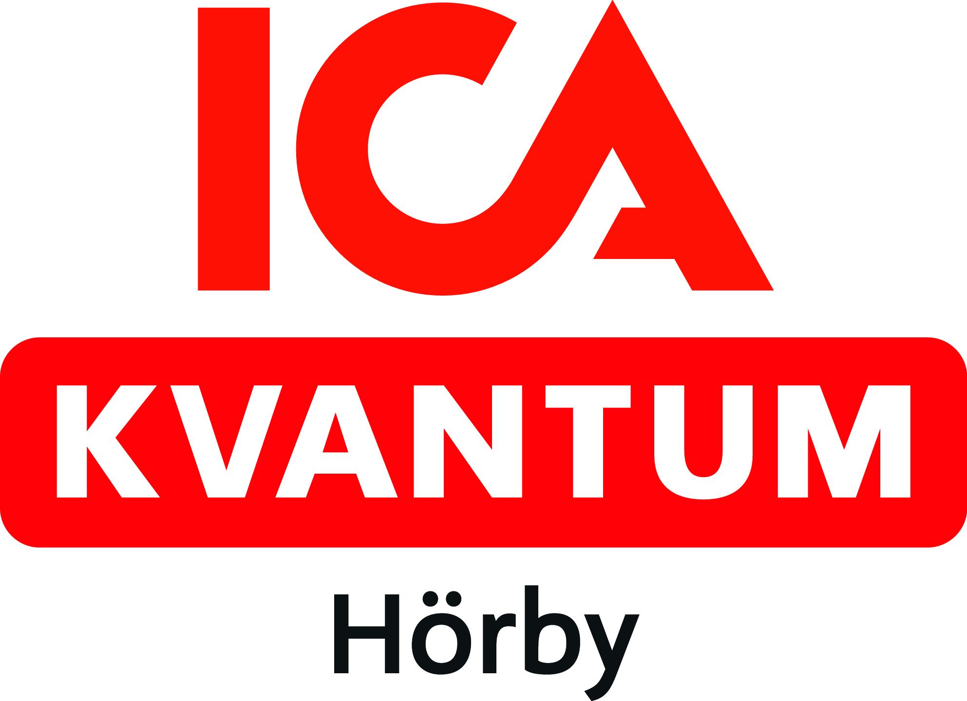 ICA kvantum Hörby logotyp