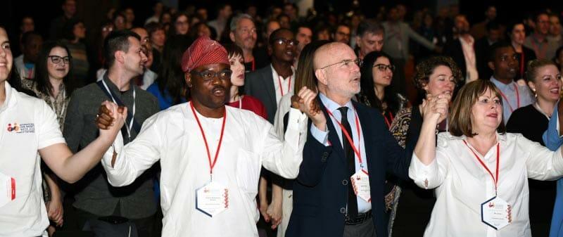 Civicus-konfererensen handlar om civilsamhället.