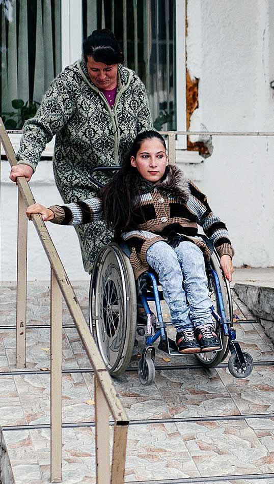 Ett aktivt liv i rullstol