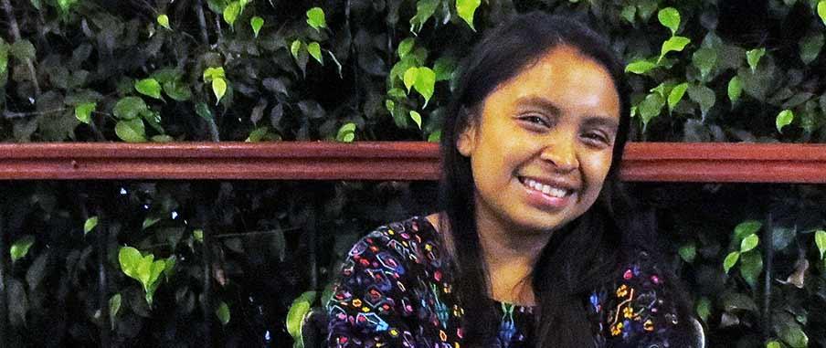 Nelsy Dalilia Ac Caal, student., Cobán, Guatemala.