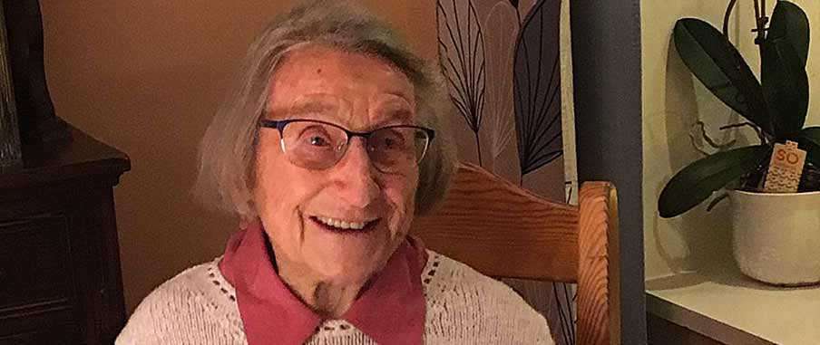 Barbro Cluley fyller 100 år
