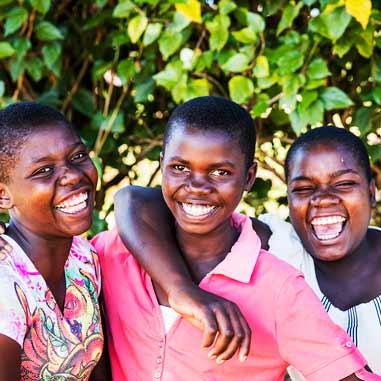 Wongani Kaonga, Charity Kambandu, Mercy Kamsonga Ntchisi Secondary School, Malawi.